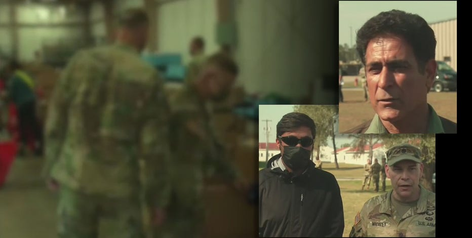 Fort McCoy: Afghan refugees share evacuation experiences