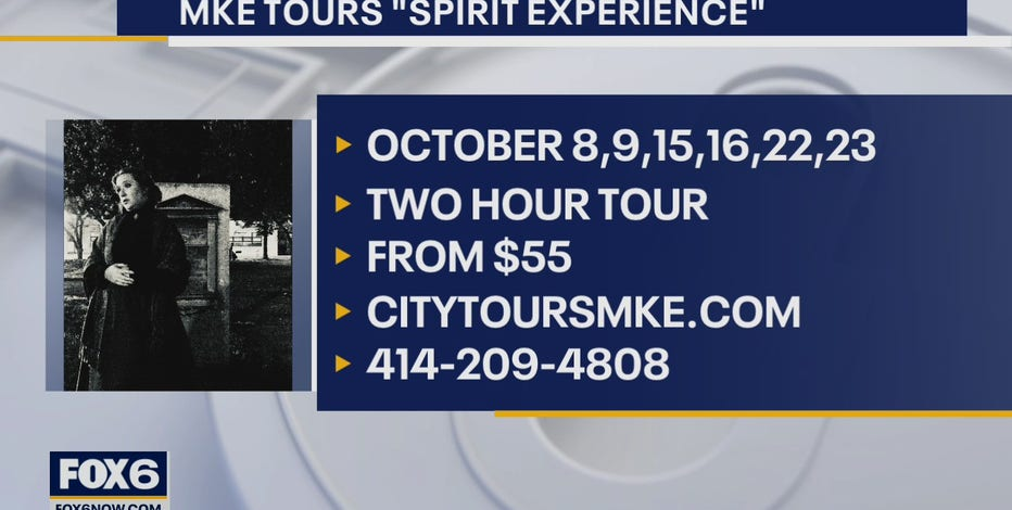 Tour group showing Milwaukee's ghostly history