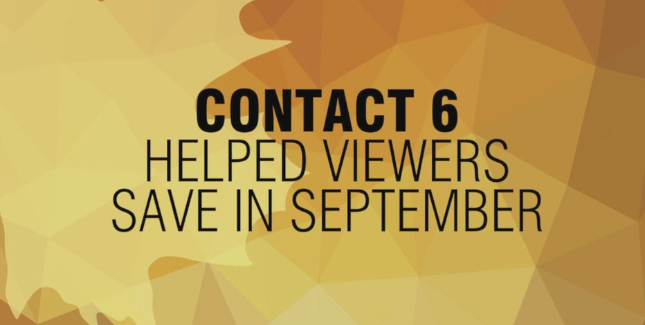 Contact 6 helps viewers save $57,000 in September 2021
