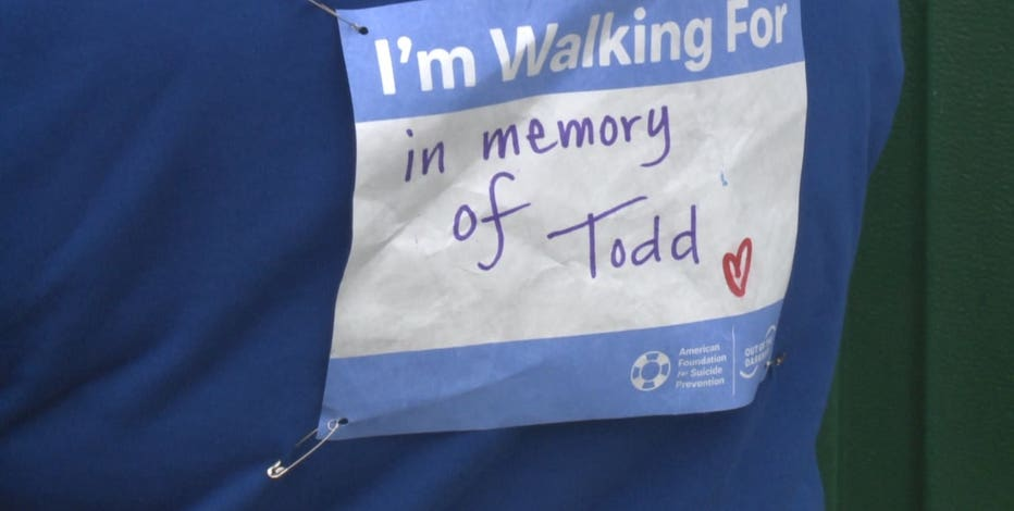 'Out of the Darkness' suicide prevention walk
