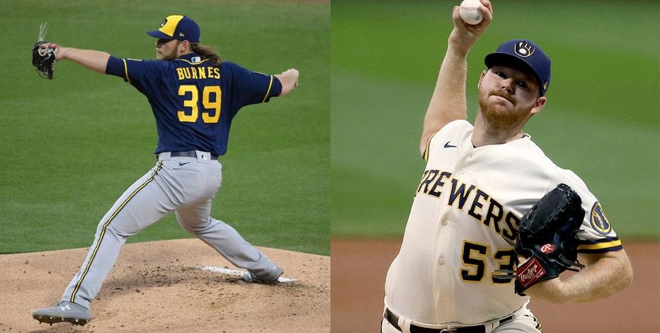 Brewers playoffs: Burnes, Woodruff open Braves series