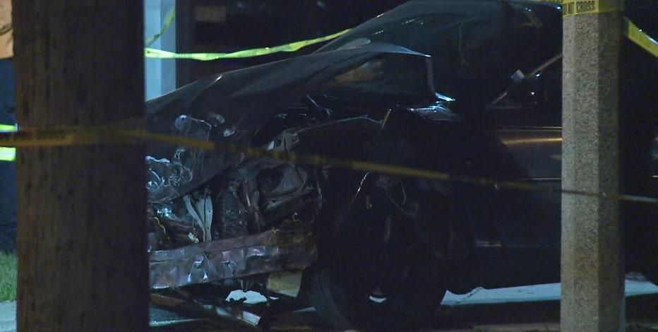 Milwaukee stolen van crash, 16-year-old driver arrested