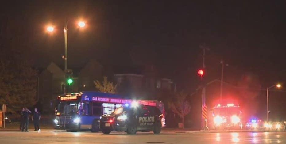 MCTS bus struck pedestrian in West Allis