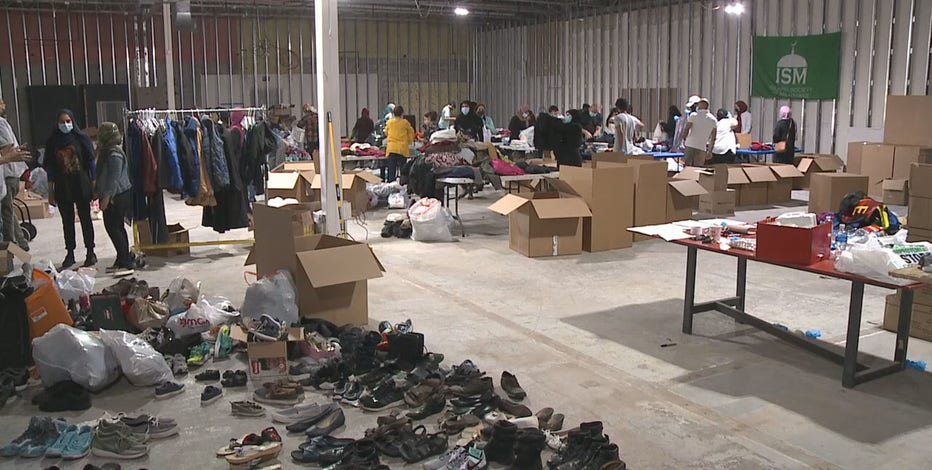 Afghan refugee donation drive continues at Islamic Society