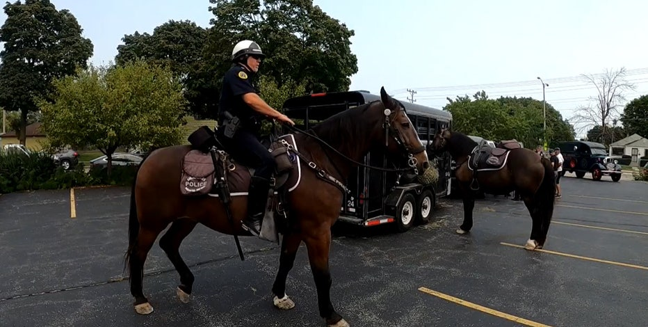 Milwaukee's Mounted Patrol Unit takes police work to new heights