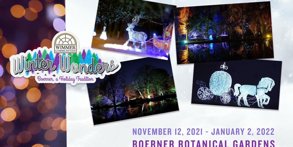 Winter Wonders at Boerner Botanical Gardens returns