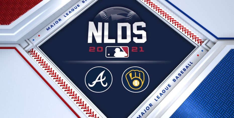 Brewers fall to Braves, NLDS even at 1-1