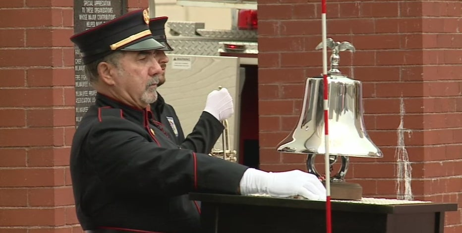 Milwaukee honors fallen firefighters; 141 who died in line of duty