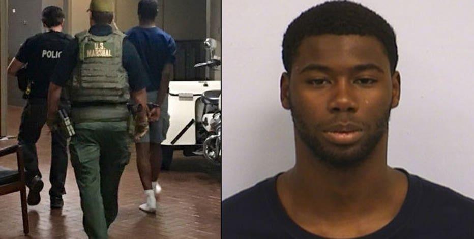 Murder suspect has tumultuous background