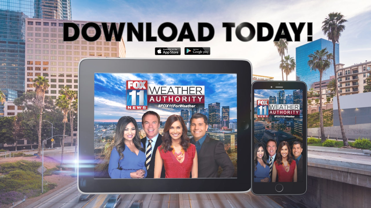 Download the FOX 11 Weather App!