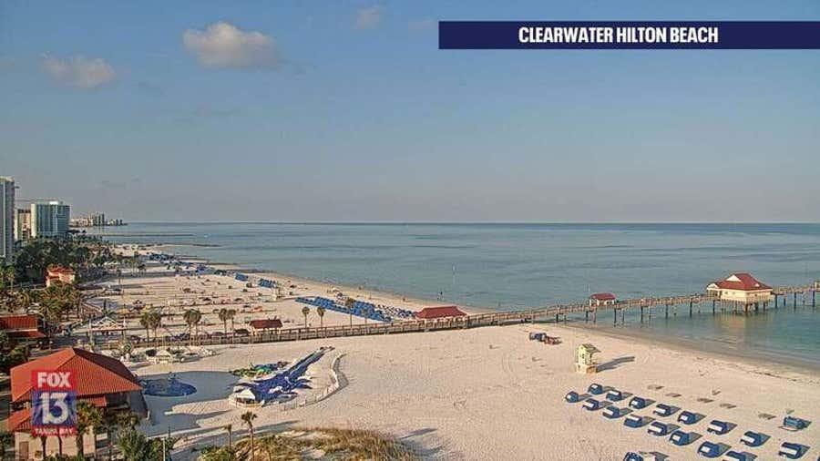 Clearwater Beach: Hilton Cam