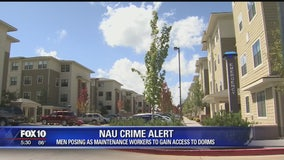 NAU Police: Men posing as maintenance workers to enter dorm rooms