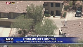 Man found fatally shot in Fountain Hills; suspect detained