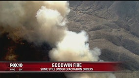 Goodwin Fire reaches 75 percent containment
