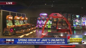 Cory's Corner: Spring break at Jake's Unlimited