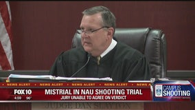 Mistrial declared in NAU shooting trial