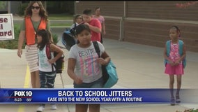 Back to school? How to tame those jitters