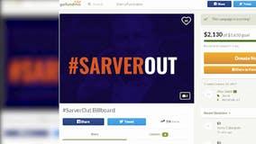 Suns fan raising money for #SarverOut billboards