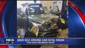Feds: Uber self-driving SUV saw pedestrian but didn't brake
