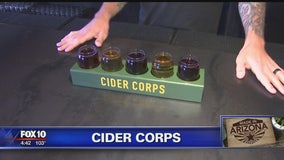 Marine develops cider business with his brother