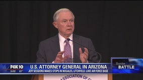 Jeff Sessions makes stops in Nogales, Litchfield Park, Luke AFB