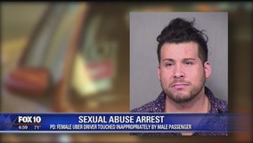 Uber passenger accused of sexual abuse