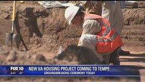 Construction set to begin on housing project for veterans