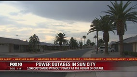 Major power outage reported across Phoenix and neighboring cities