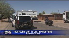 Police: 4 dead, 1 in custody following shooting in Casa Grande