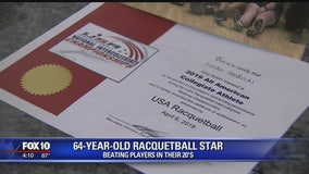 64-year-old ASU racquetball player earns All-American honors