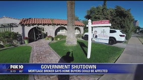 Home buyers could be affected by govt shutdown