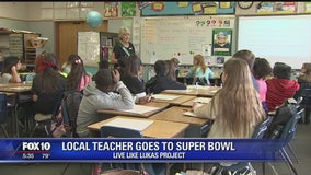 Avondale teacher gets tickets to go to the Super Bowl