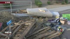 Illegal trash dumping upsetting Laveen residents