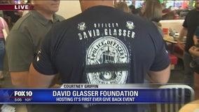 David Glasser Foundation holds first ever give back backpack event