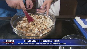 Wicked City Kitchen's homemade granola bars