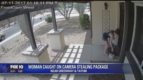 "Phoenix man fell victim to ""porch pirate"""