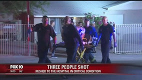 Three people shot at home in South Phoenix