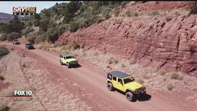 Drone Zone: Central Arizona Jeepers