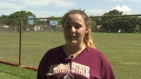 Teenager becomes first female quarterback to throw for a touchdown for a Florida high school