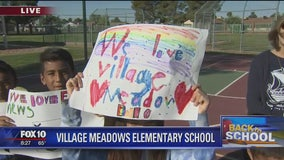 Back to school: Village Meadows Elementary School