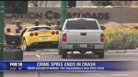 Suspect in deadly police chase may be linked to Ahwatukee murder