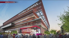 Coyotes announce plans for new arena