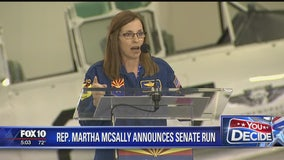 McSally launches Senate campaign in heated Arizona contest