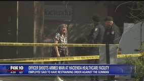 People react to officer-involved shooting at Hacienda HealthCare