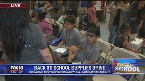 Cory's Corner: Back to school supplies drive