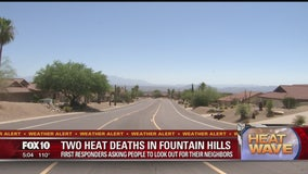 DEADLY HEAT: Two elderly people found dead inside their Fountain Hills homes