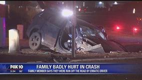 4 children, 2 others critically injured in crash