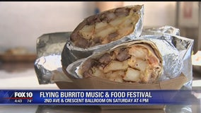 Flying Burrito Festival to bring music, good food to Downtown Phoenix