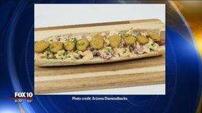 Diamondbacks debut 3 new mega hot dogs for upcoming season