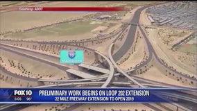 Preliminary work begins on Loop 202